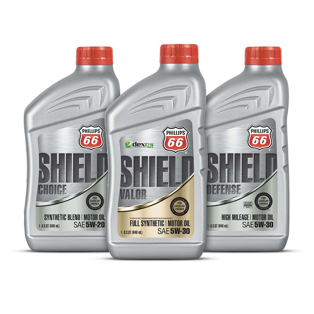 Phillips 66 Shield Motor Oil